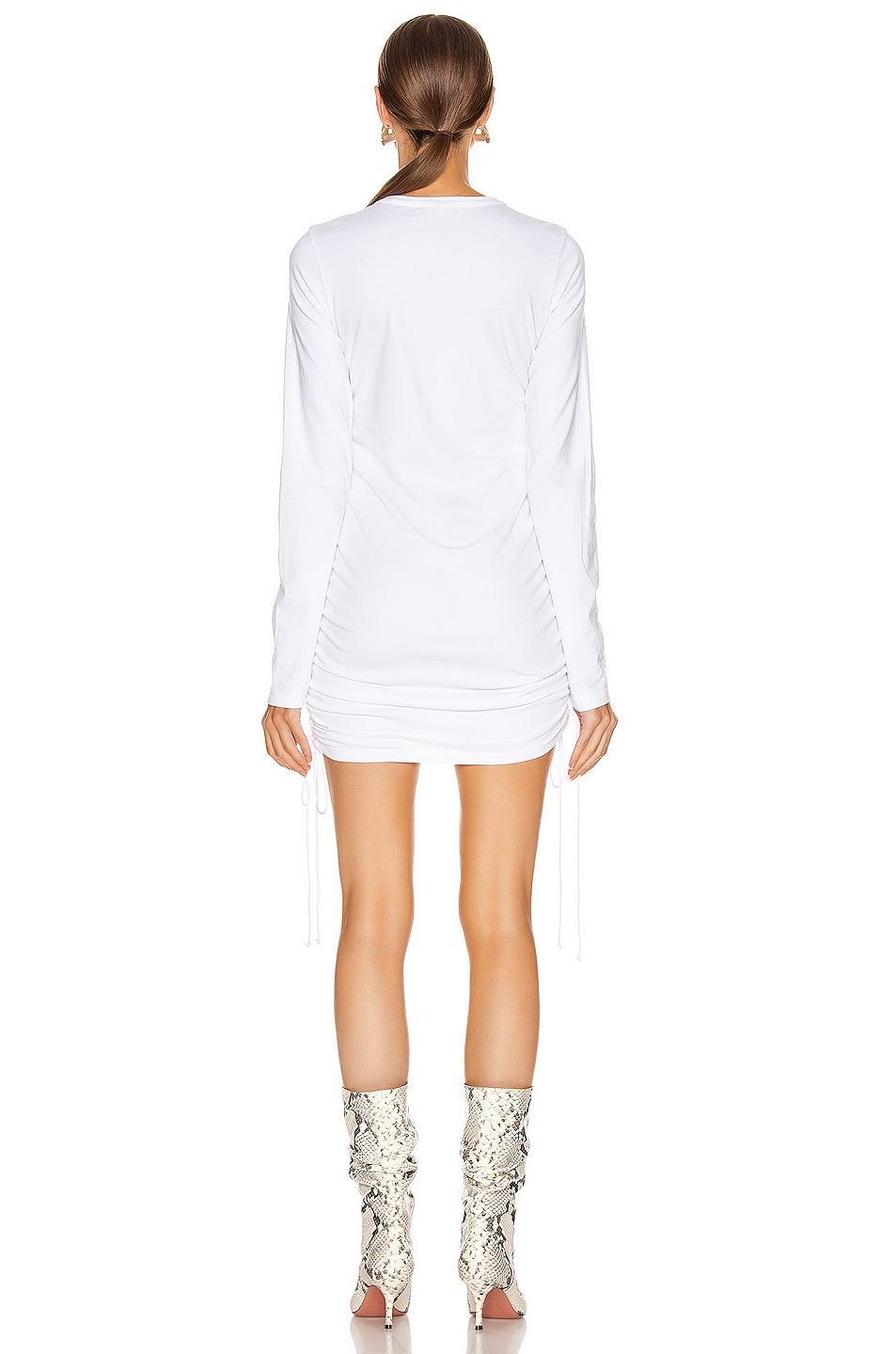 Image 3 of COTTON CITIZEN Lisbon Shirt Dress in White