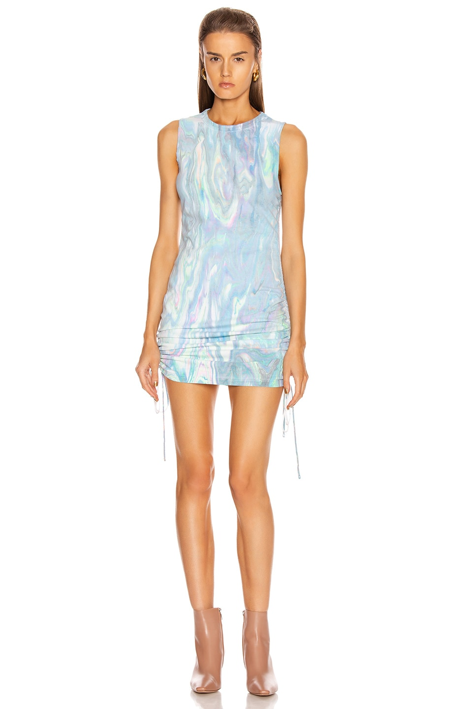 Image 1 of COTTON CITIZEN Lisbon Tank Dress in Multi Marble