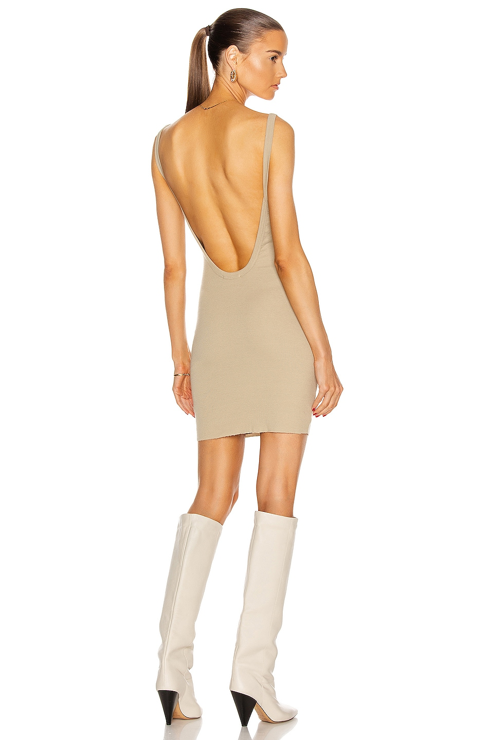 Image 1 of COTTON CITIZEN Verona Tank Dress in Cashew