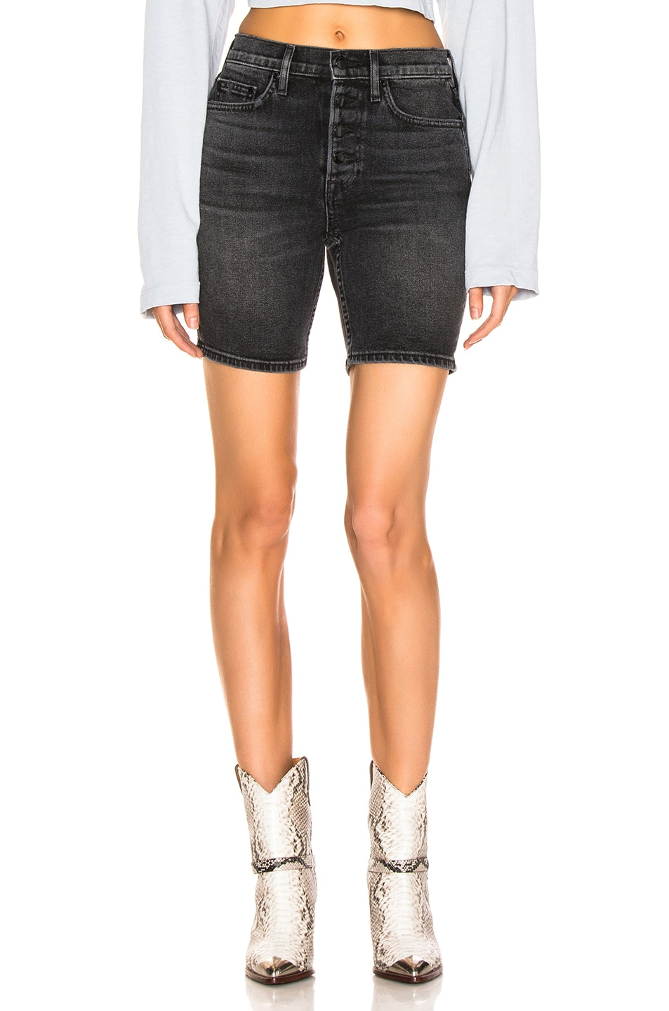 Image 1 of COTTON CITIZEN Denim Twill Short in Bowery