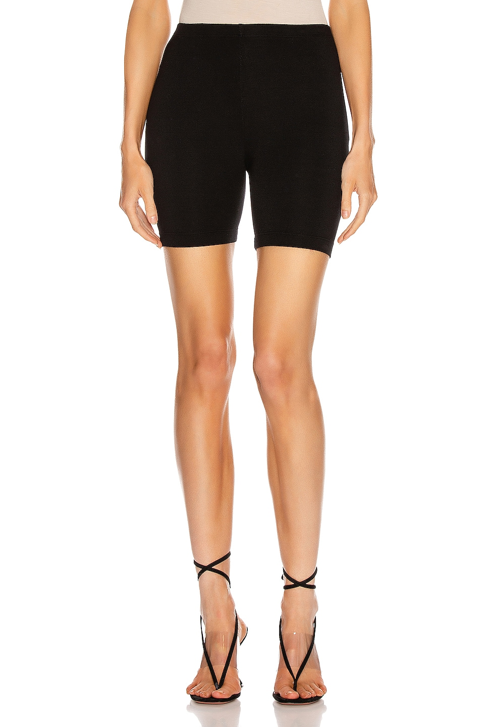 Image 1 of COTTON CITIZEN Milan Biker Short in Jet Black