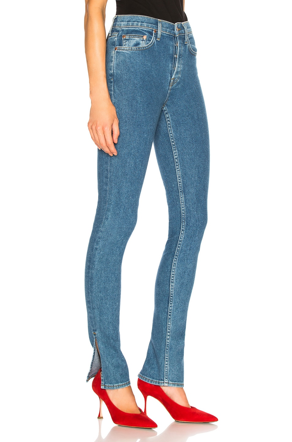 Image 2 of COTTON CITIZEN High Skinny in 90's Blue