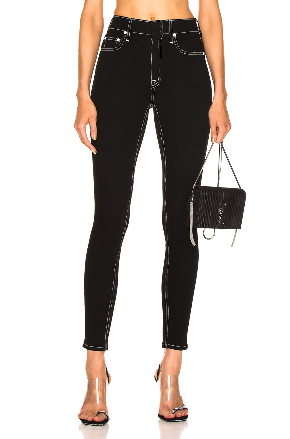 Image 1 of COTTON CITIZEN Cigarette Jean in Jet Black