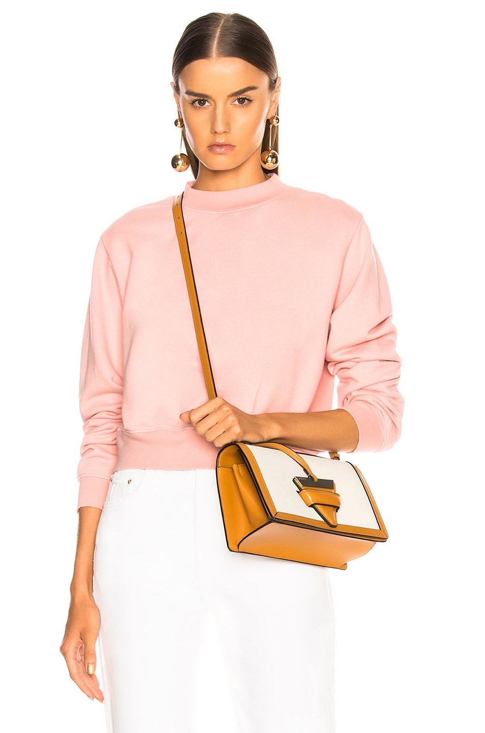Image 1 of COTTON CITIZEN Milan Crew in Blush