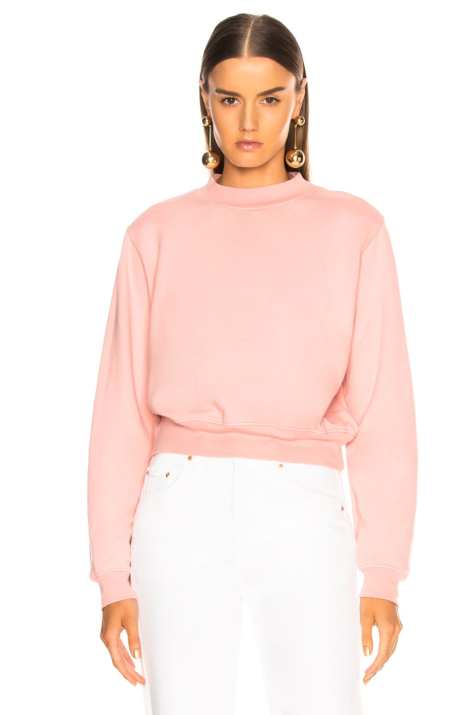 Image 2 of COTTON CITIZEN Milan Crew in Blush