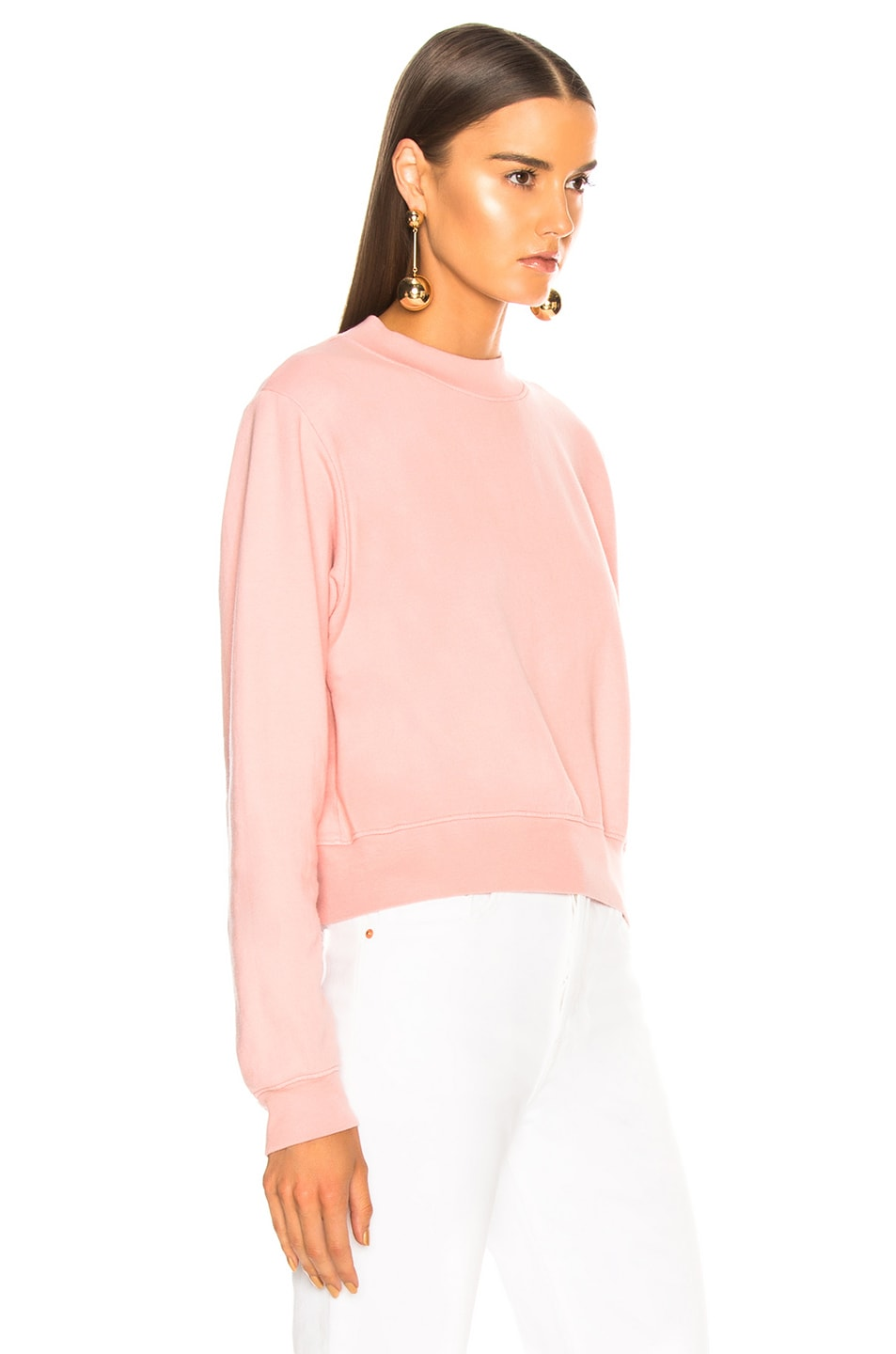 Image 3 of COTTON CITIZEN Milan Crew in Blush