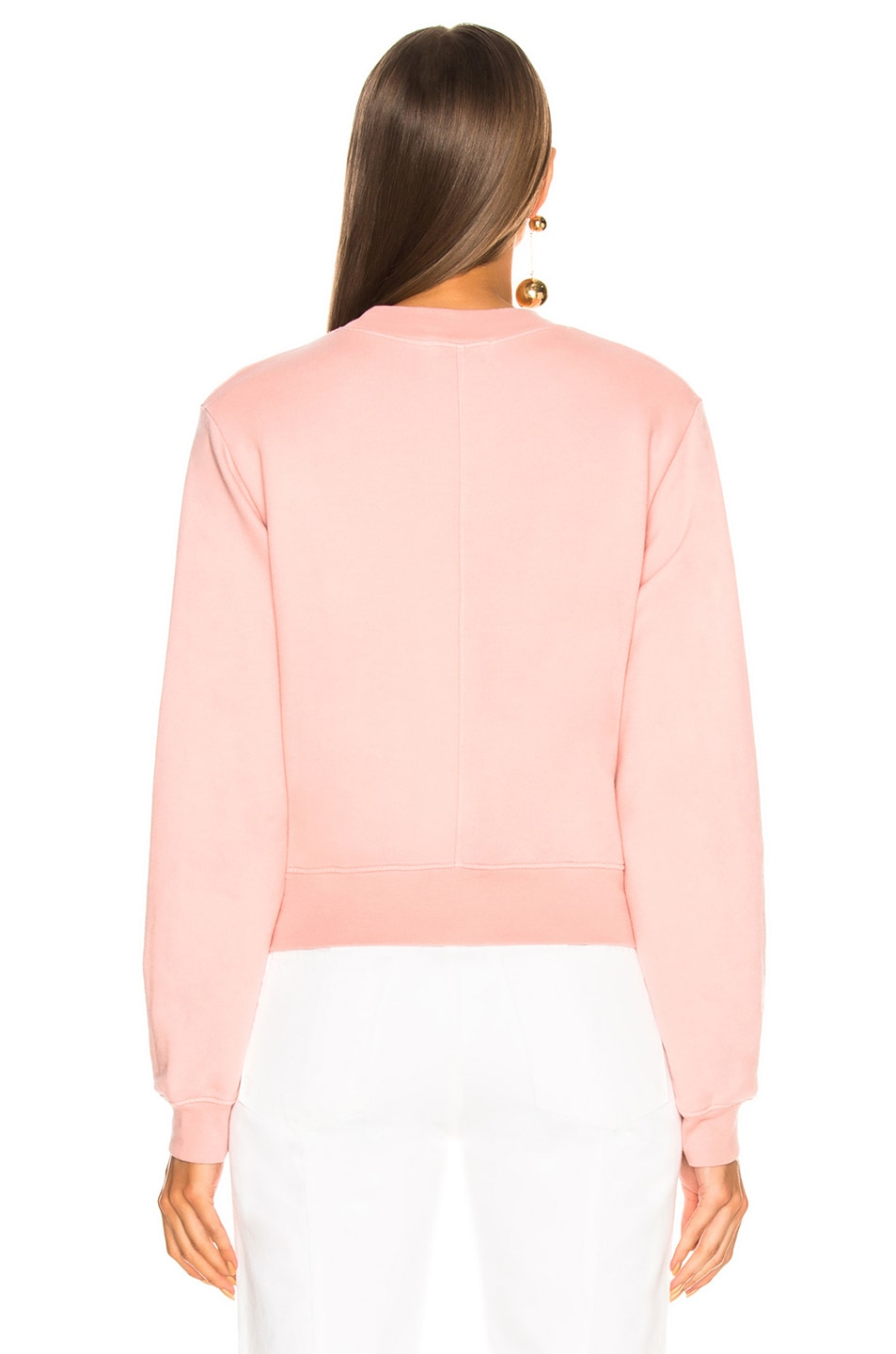 Image 4 of COTTON CITIZEN Milan Crew in Blush
