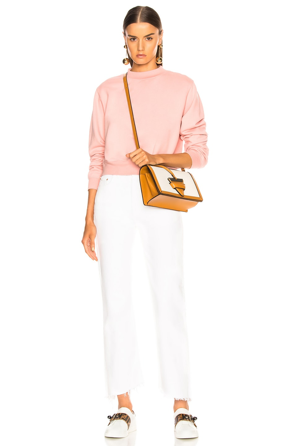 Image 5 of COTTON CITIZEN Milan Crew in Blush