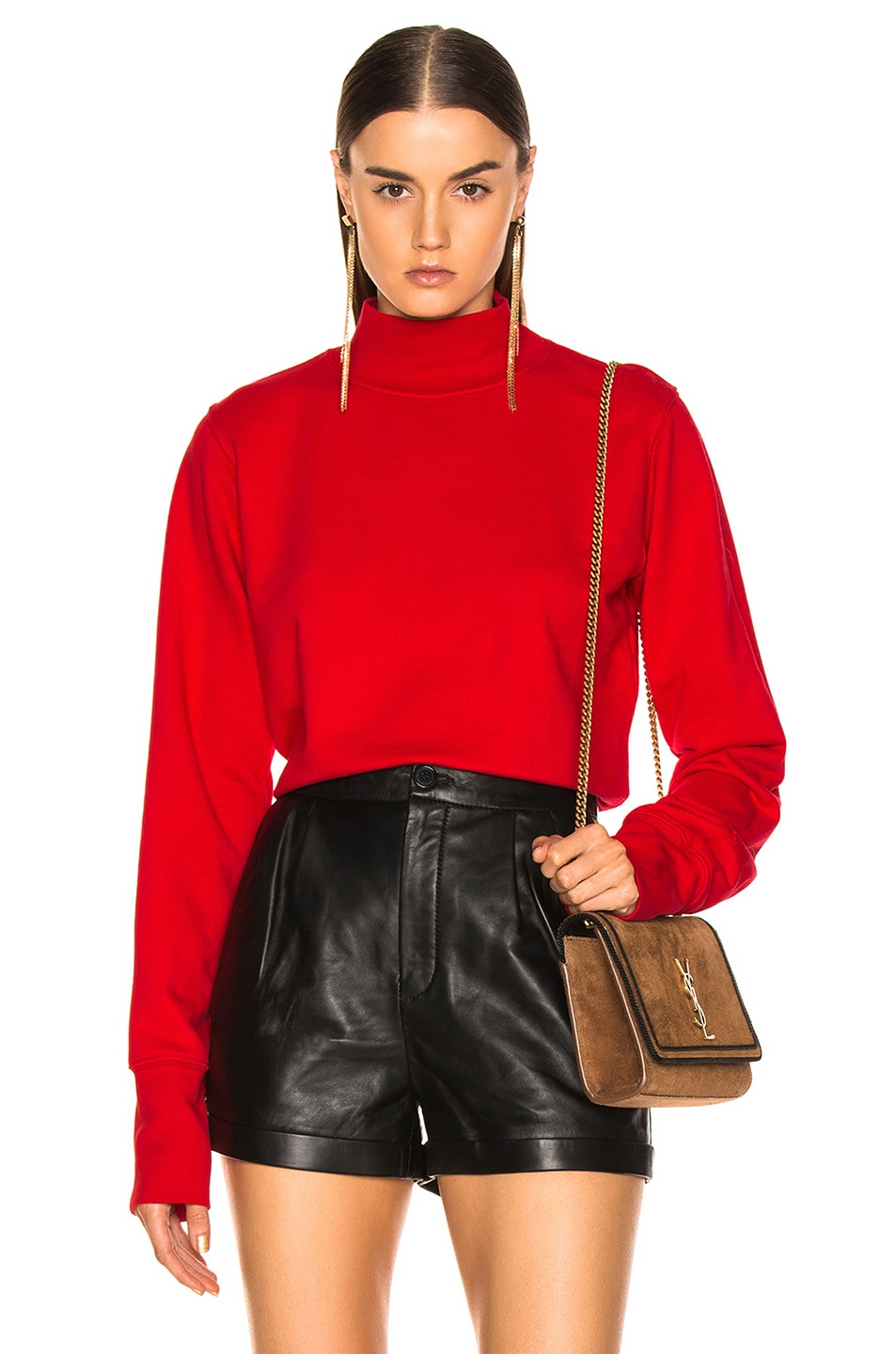 Image 1 of COTTON CITIZEN Milan Sweatshirt in Cherry