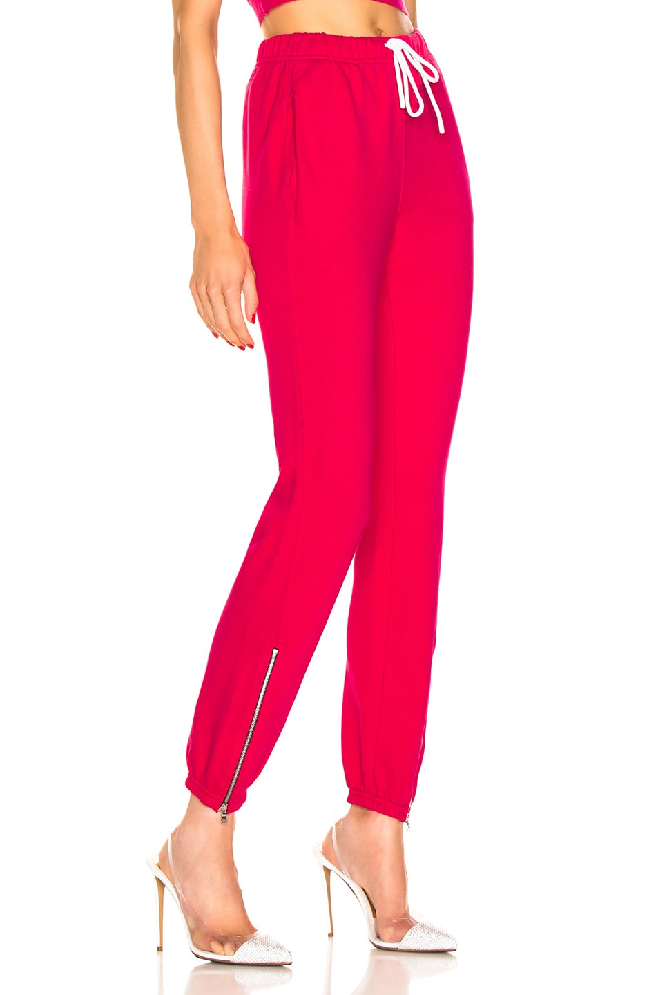 Image 2 of COTTON CITIZEN Milan Zip Jogger in Foxy