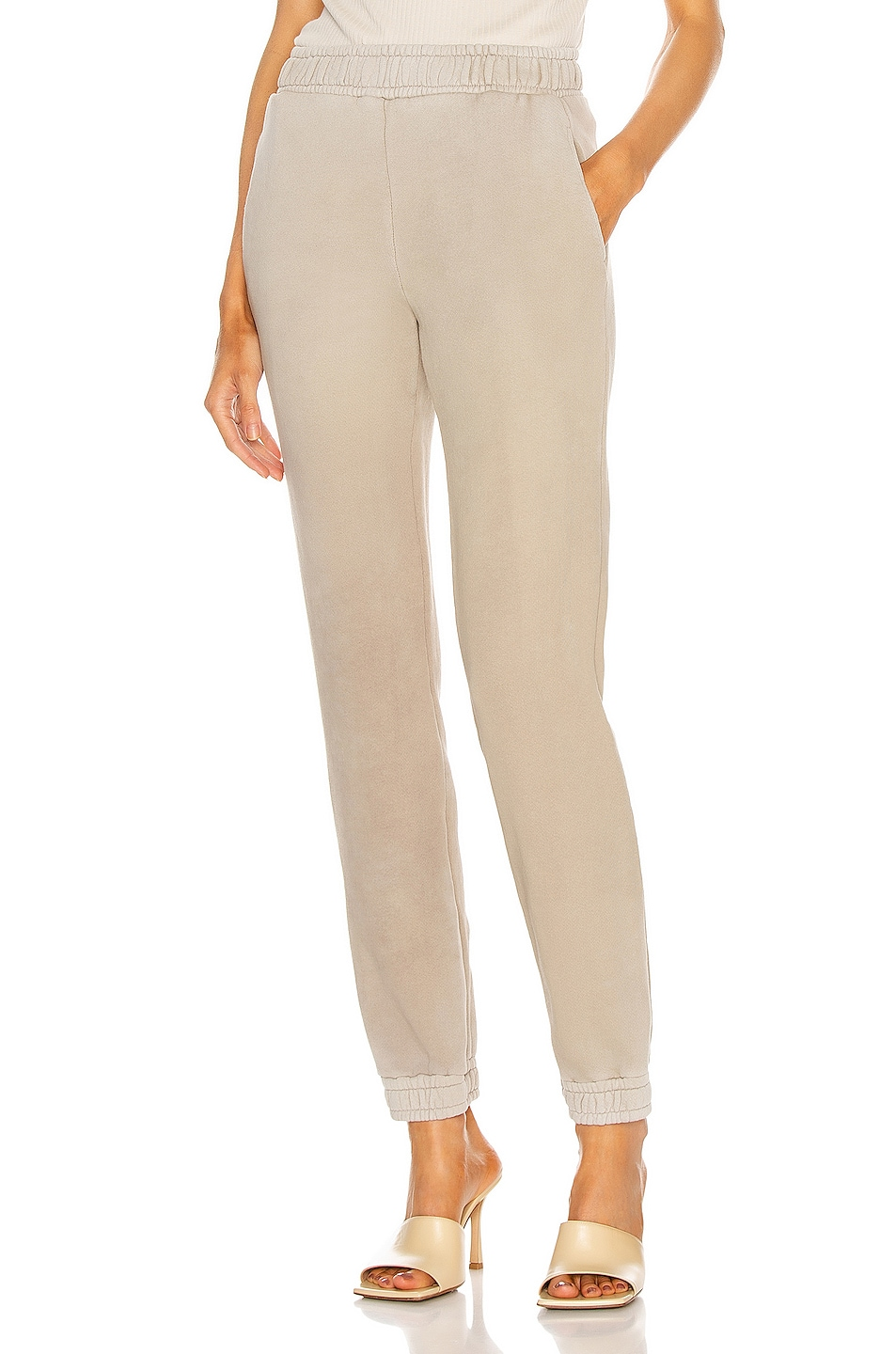 Image 1 of COTTON CITIZEN Brooklyn Sweatpant in Vintage Sand Dollar