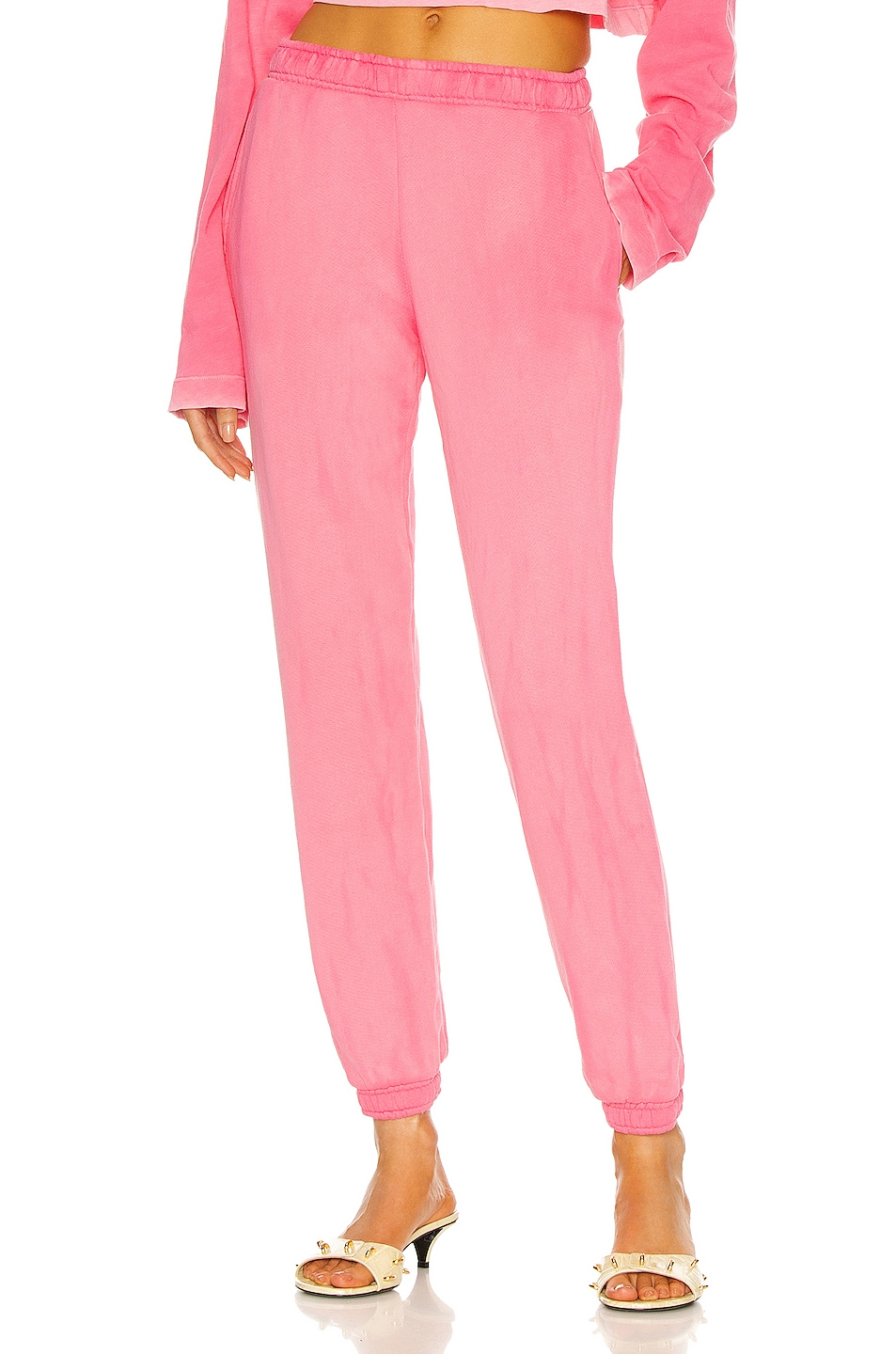Image 1 of COTTON CITIZEN Brooklyn Sweatpant in Hot Pink