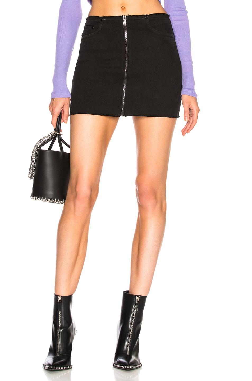 Mini Zip Skirt. - size 26 (also in 24,25,27,28,29) Cotton Citizen