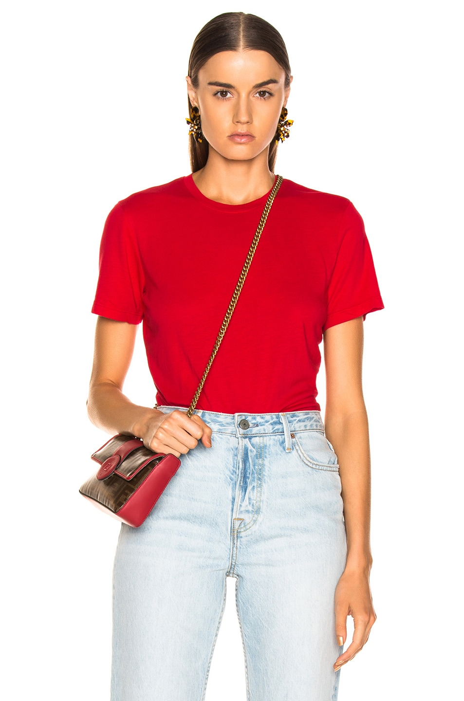 Image 1 of COTTON CITIZEN Classic Tee in Cherry