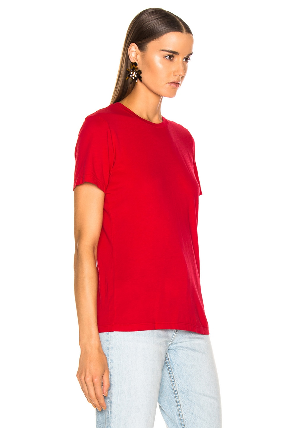 Image 2 of COTTON CITIZEN Classic Tee in Cherry