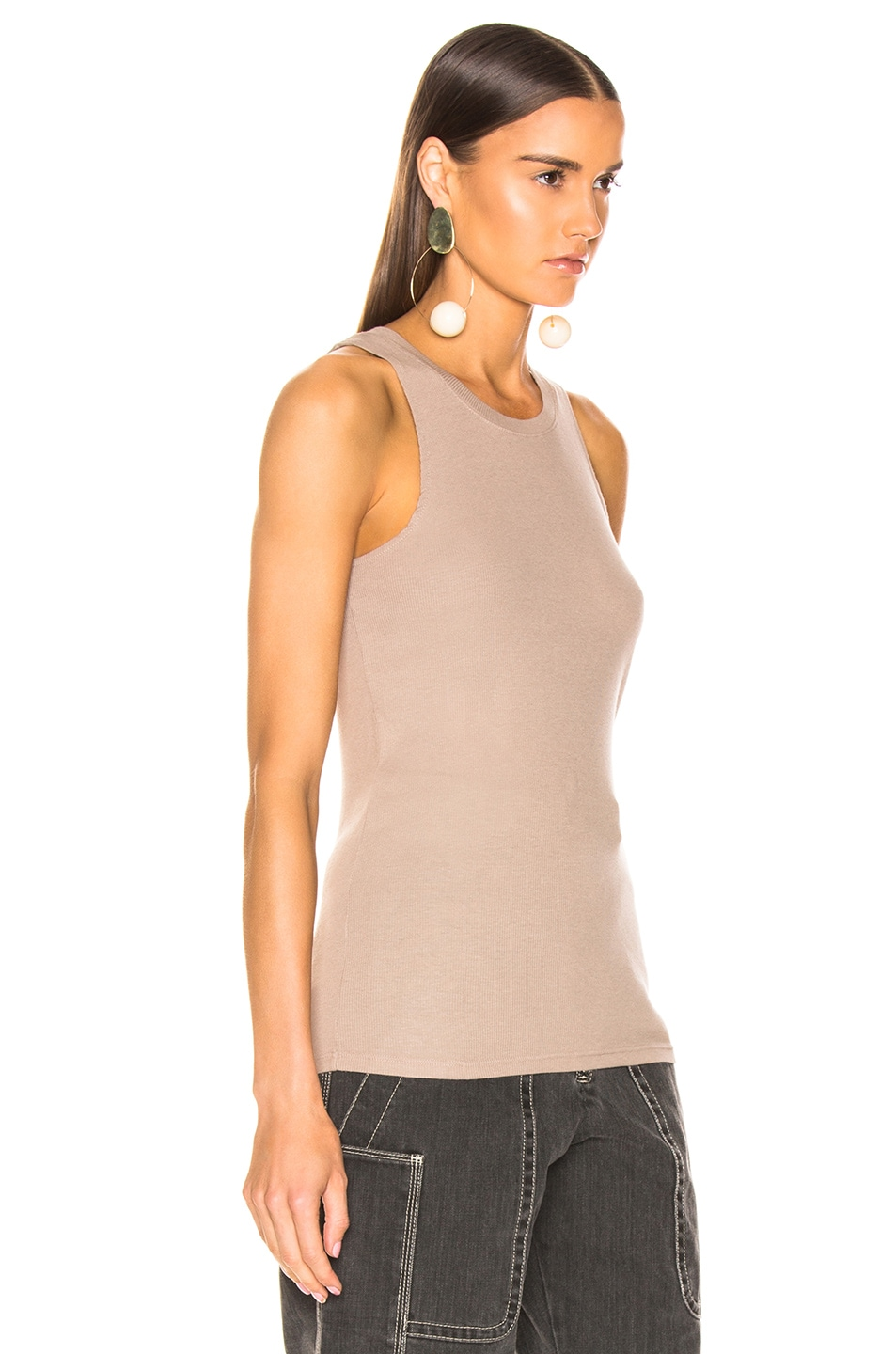 Image 2 of COTTON CITIZEN Venice Tank in Cappuccino