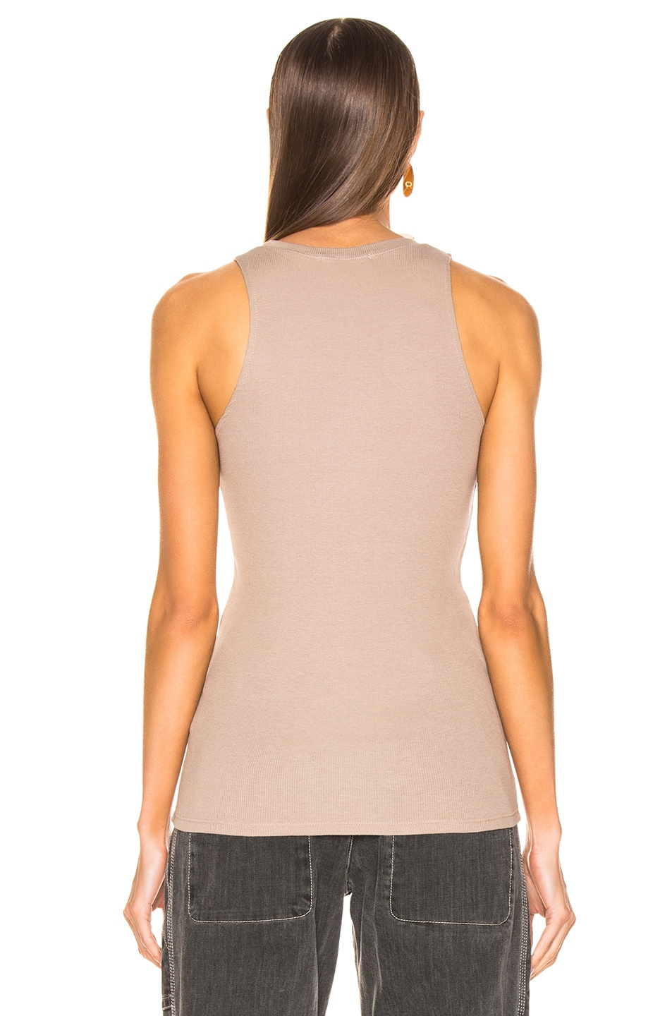 Image 3 of COTTON CITIZEN Venice Tank in Cappuccino