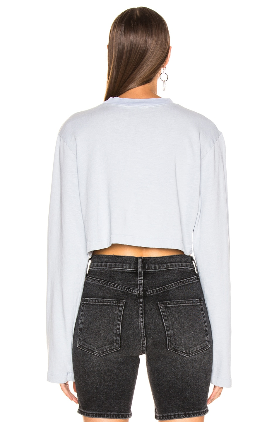 Image 3 of COTTON CITIZEN Tokyo Crop Long Sleeve in Crystalline