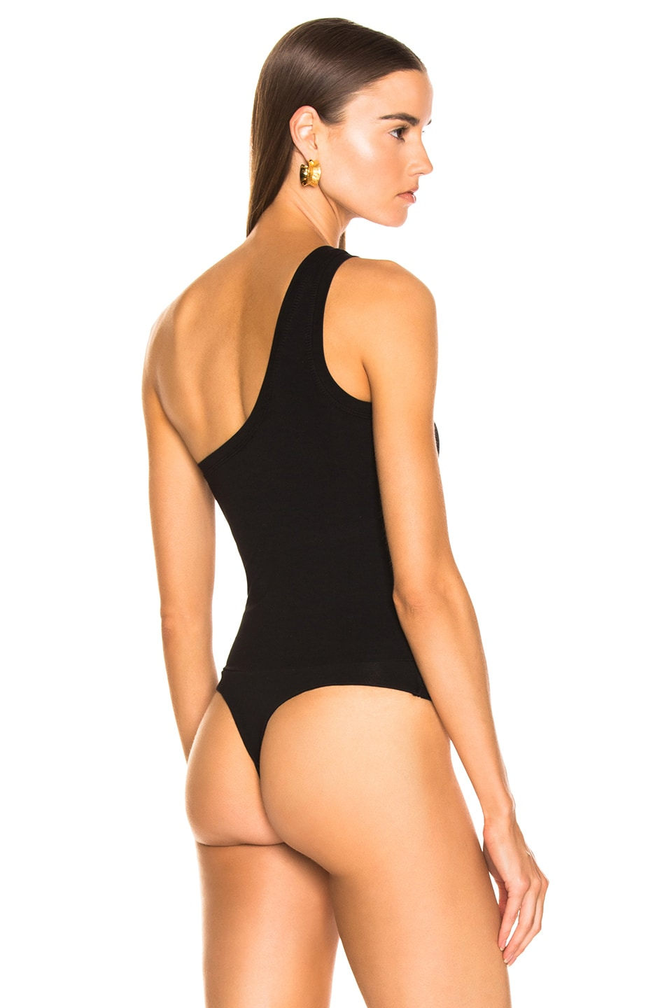 Image 4 of COTTON CITIZEN Brisbane Bodysuit in Jet Black