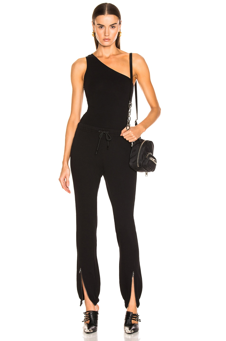 Image 5 of COTTON CITIZEN Brisbane Bodysuit in Jet Black