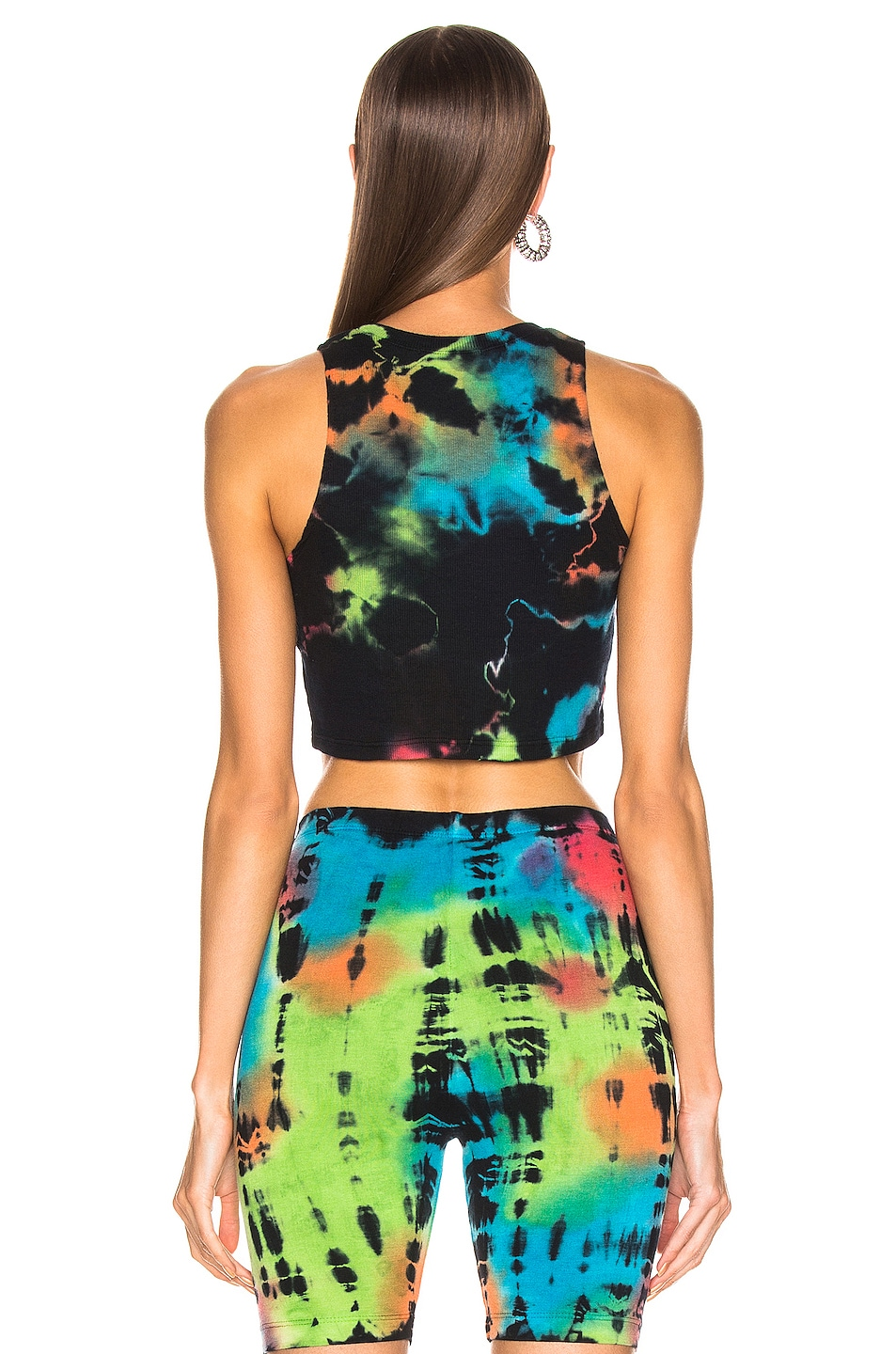 Image 3 of COTTON CITIZEN Venice Crop Top in Kaleidoscope