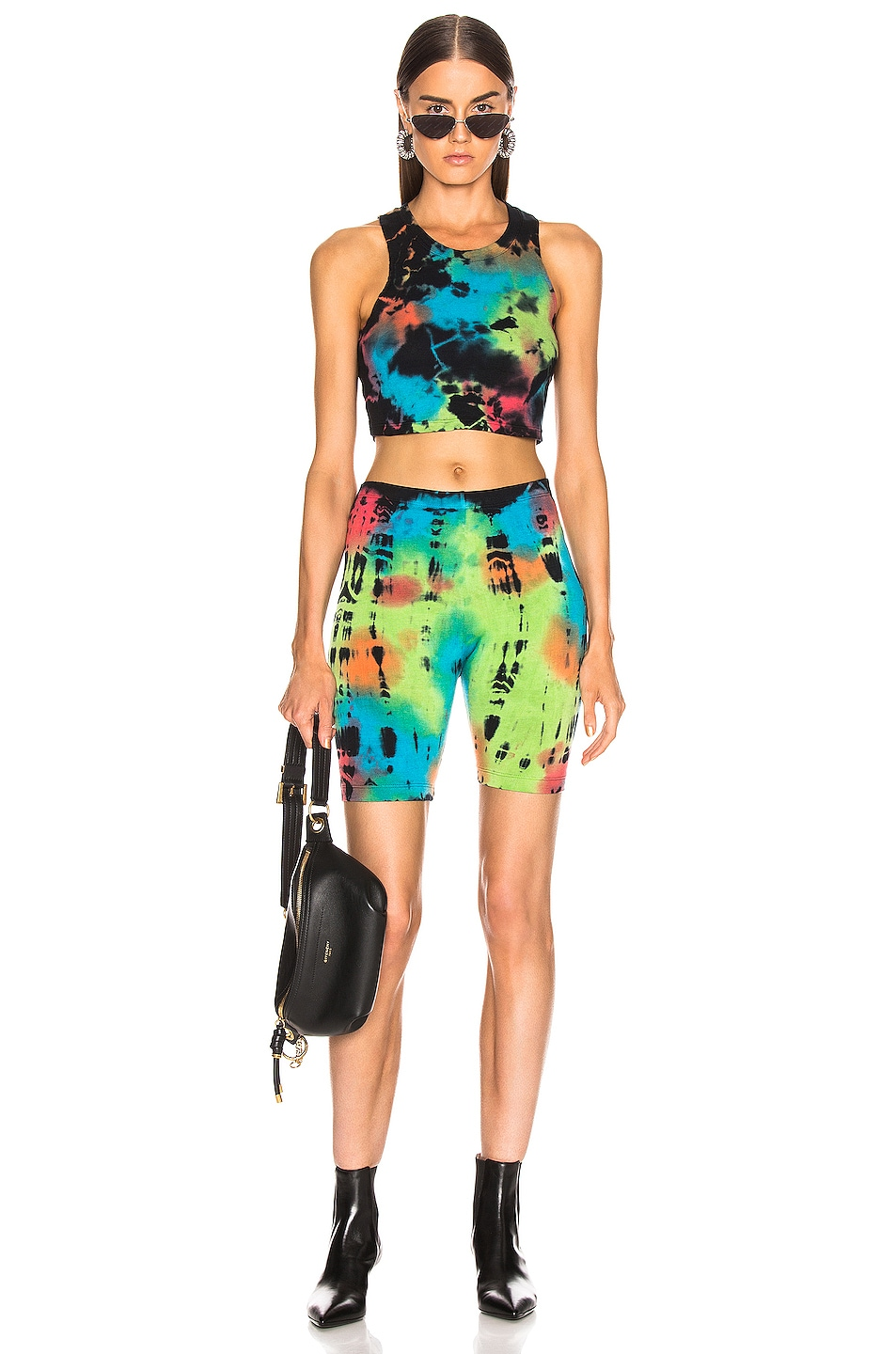 Image 4 of COTTON CITIZEN Venice Crop Top in Kaleidoscope