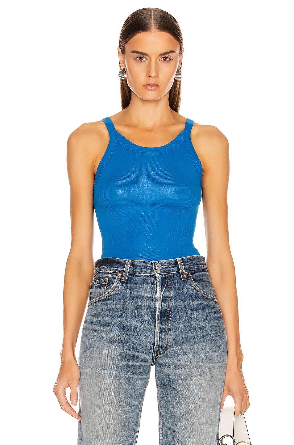 Image 1 of COTTON CITIZEN Verona Tank in Electric