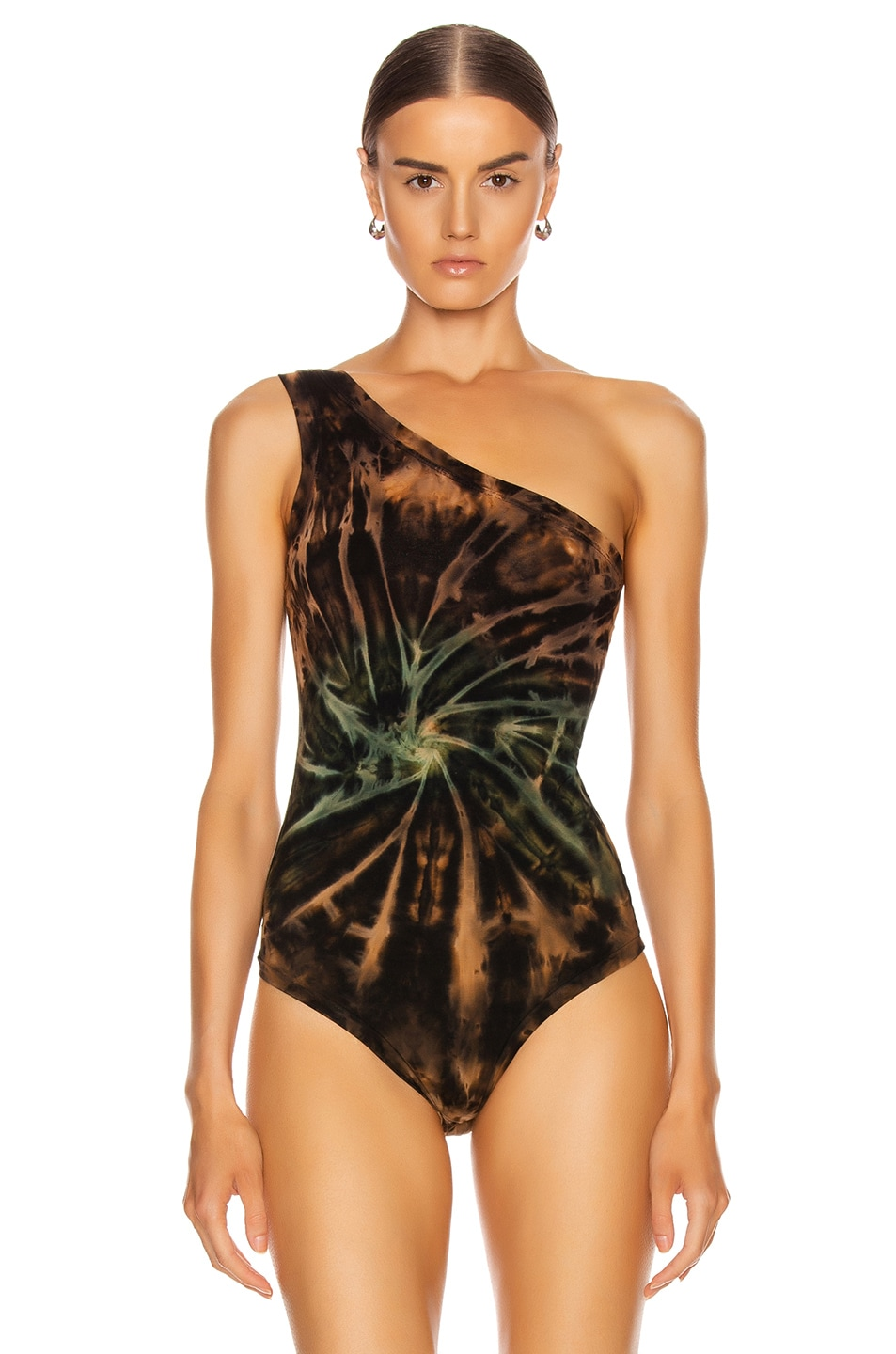 Image 2 of COTTON CITIZEN Brisbane Bodysuit in Desert Vortex