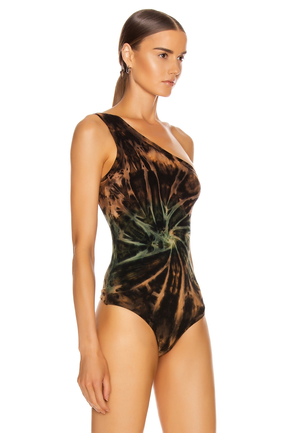 Image 3 of COTTON CITIZEN Brisbane Bodysuit in Desert Vortex