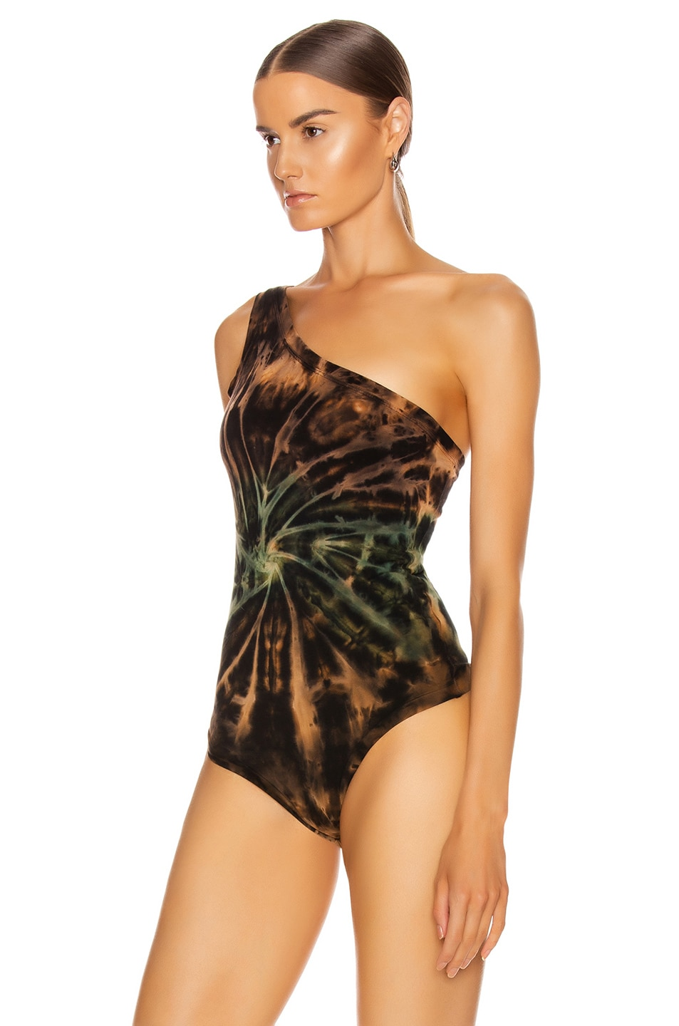 Image 4 of COTTON CITIZEN Brisbane Bodysuit in Desert Vortex