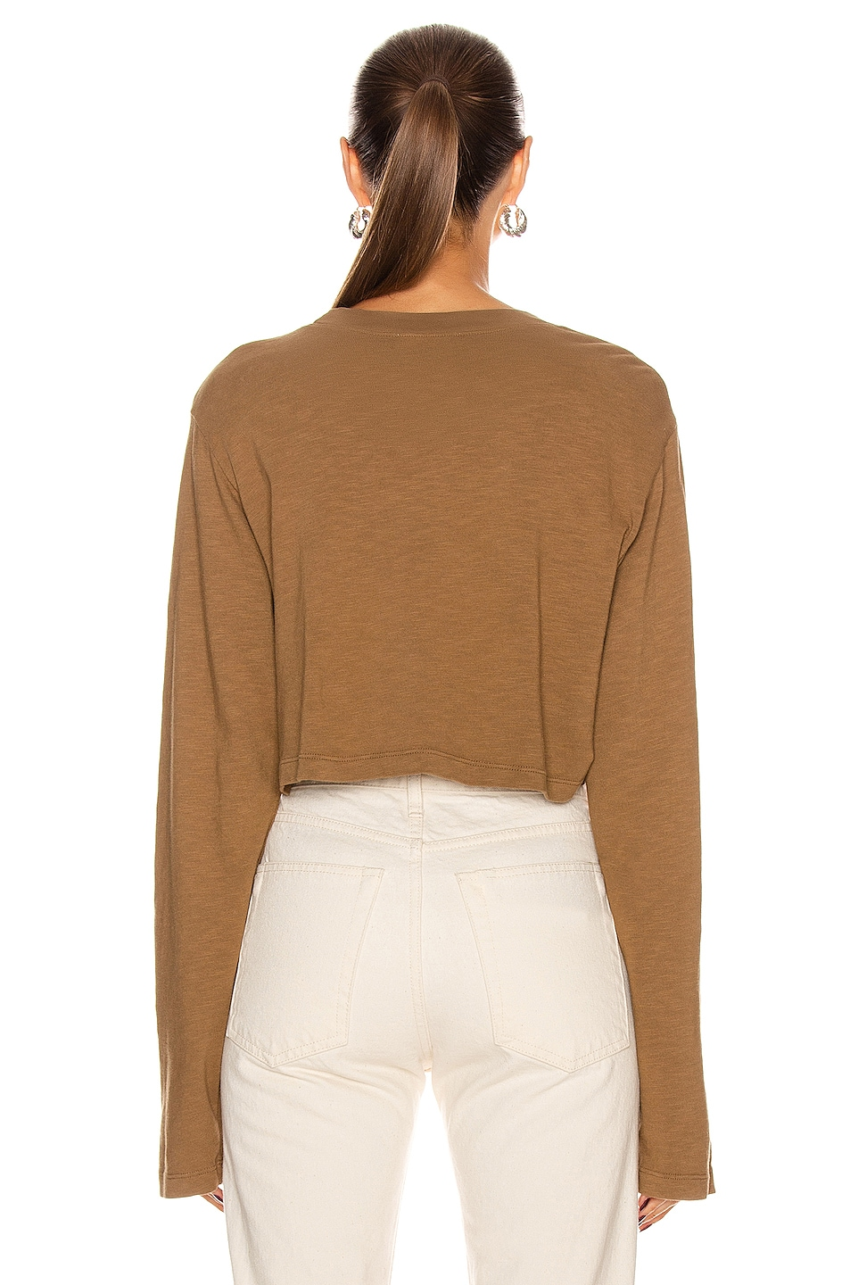 Image 3 of COTTON CITIZEN Tokyo Crop Long Sleeve in Java