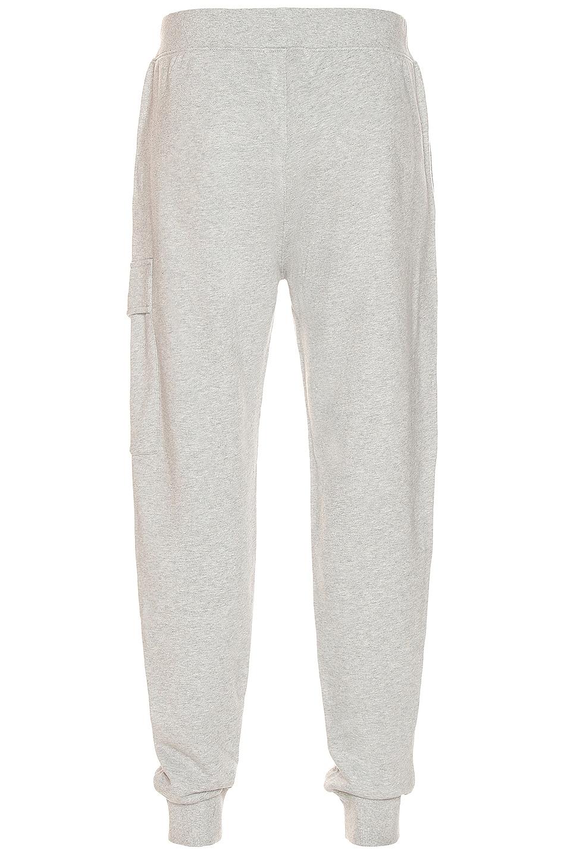 Image 1 of C.P. Company Fleece Sweatpants in Grey Melange