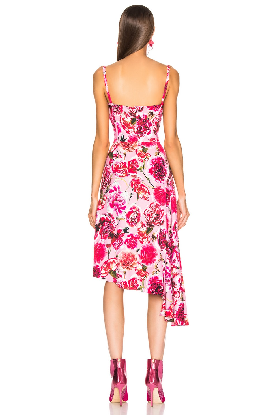 Image 4 of CARMEN MARCH Carnation Sleeveless Dress in Pink