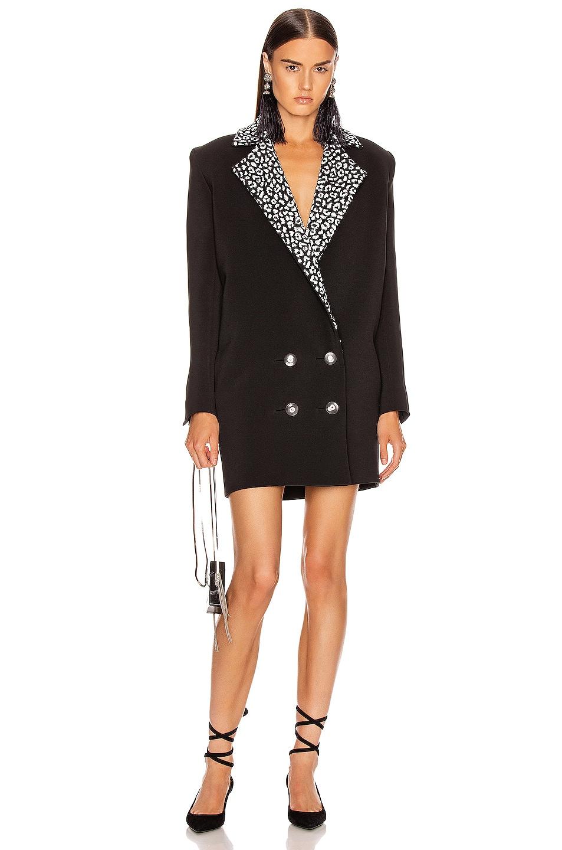 Image 1 of CARMEN MARCH Double Label Coat Dress in Black