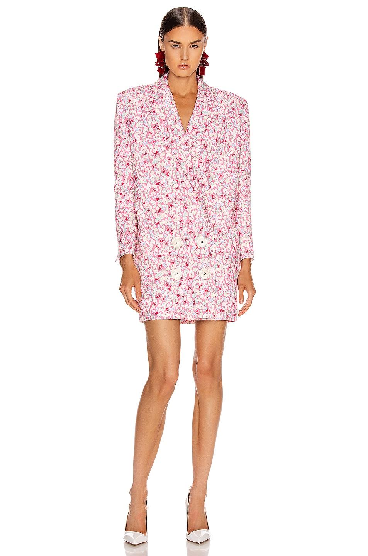 Image 2 of CARMEN MARCH Printed Coat Dress in Tutti Frutti