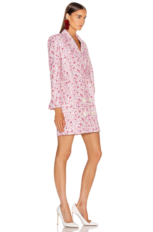 Image 3 of CARMEN MARCH Printed Coat Dress in Tutti Frutti