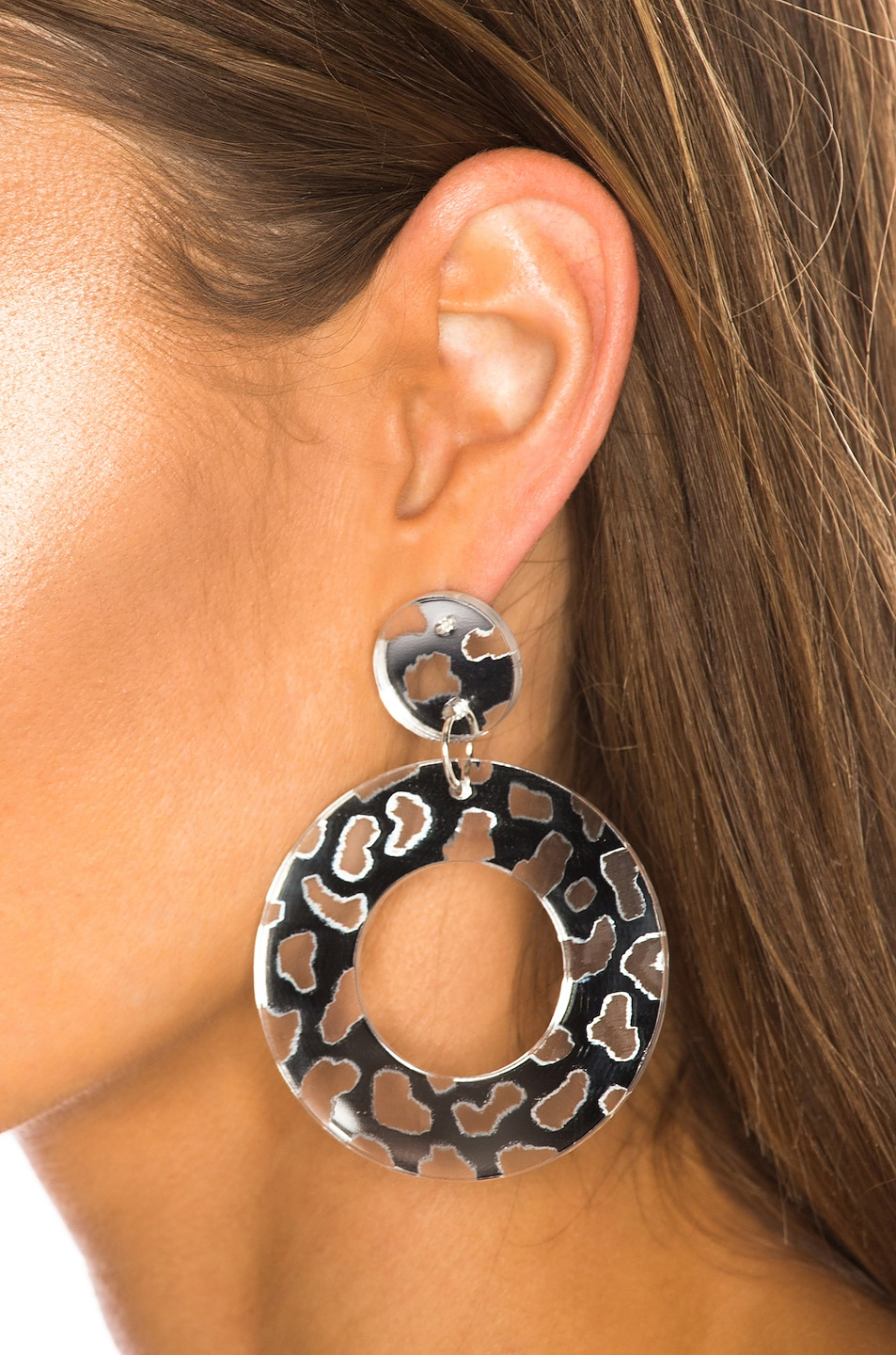 Image 2 of CARMEN MARCH Disc Earrings in Silver