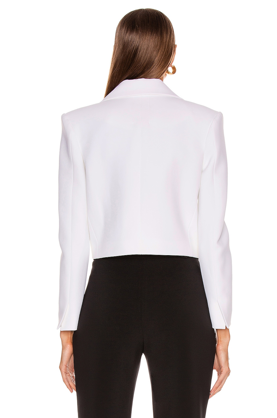 Image 3 of CARMEN MARCH Double Lapel Jacket in White