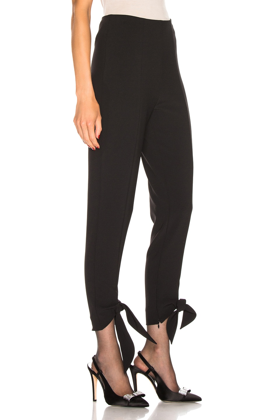 Image 2 of CARMEN MARCH Tie Pant in Black