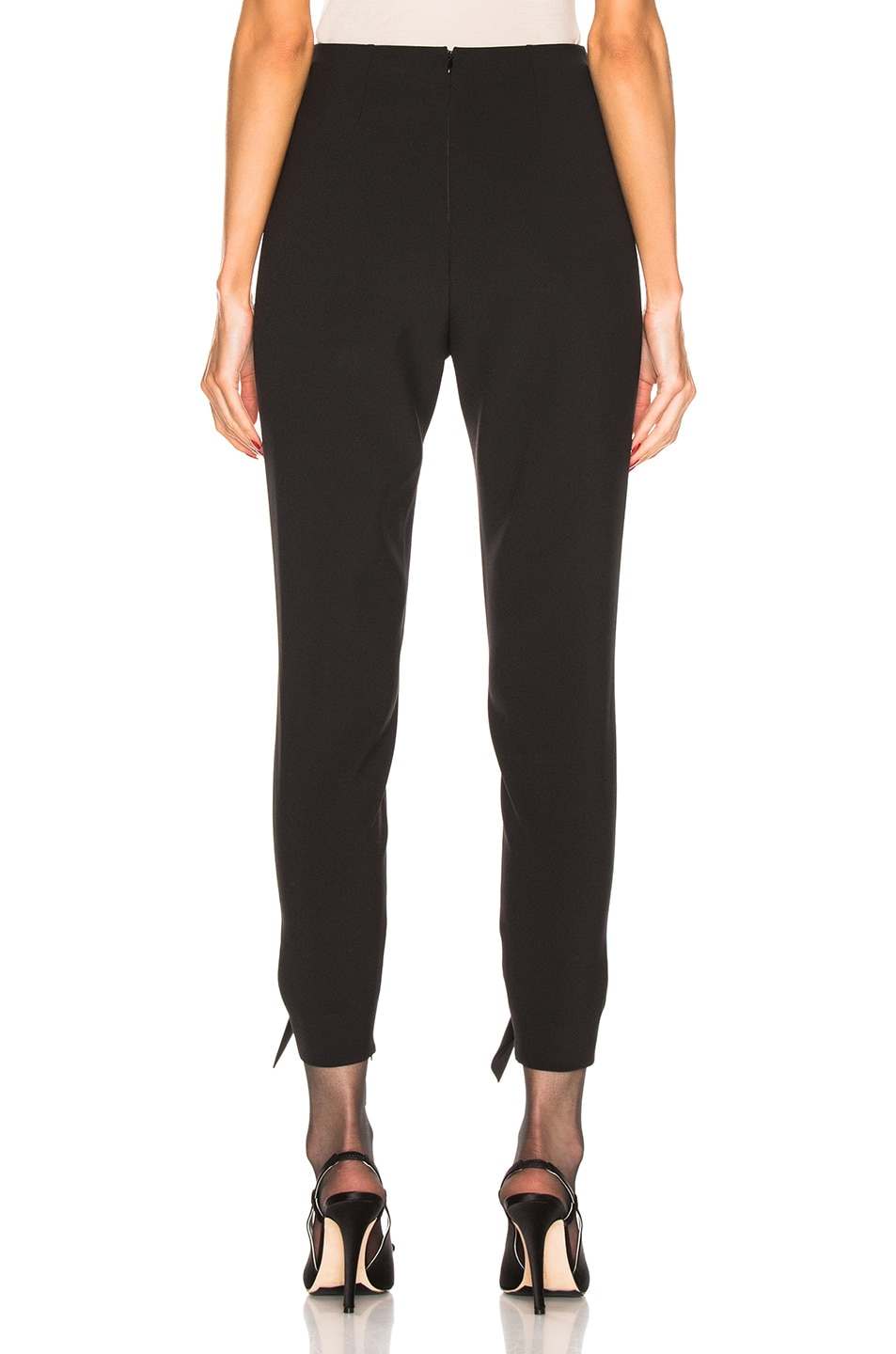 Image 3 of CARMEN MARCH Tie Pant in Black