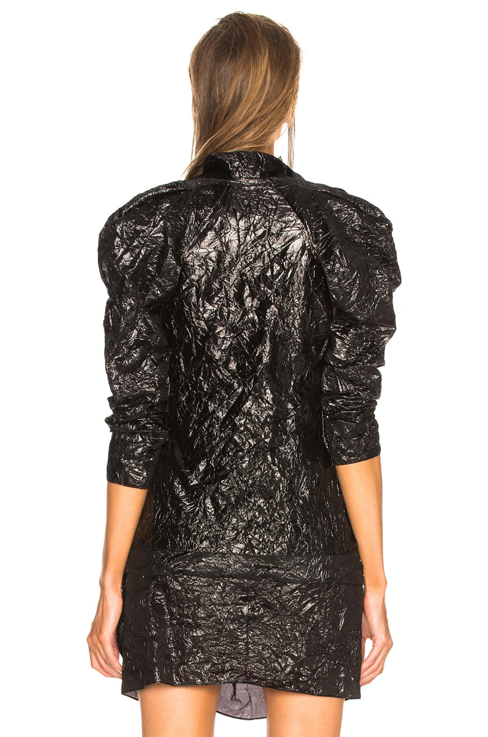 Image 3 of CARMEN MARCH Ruffle Top in Black