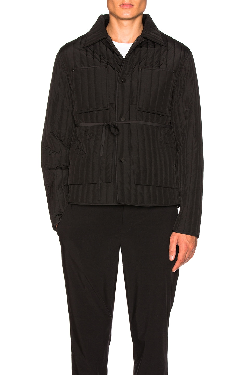 Image 1 of Craig Green Quilted Work Jacket in Black