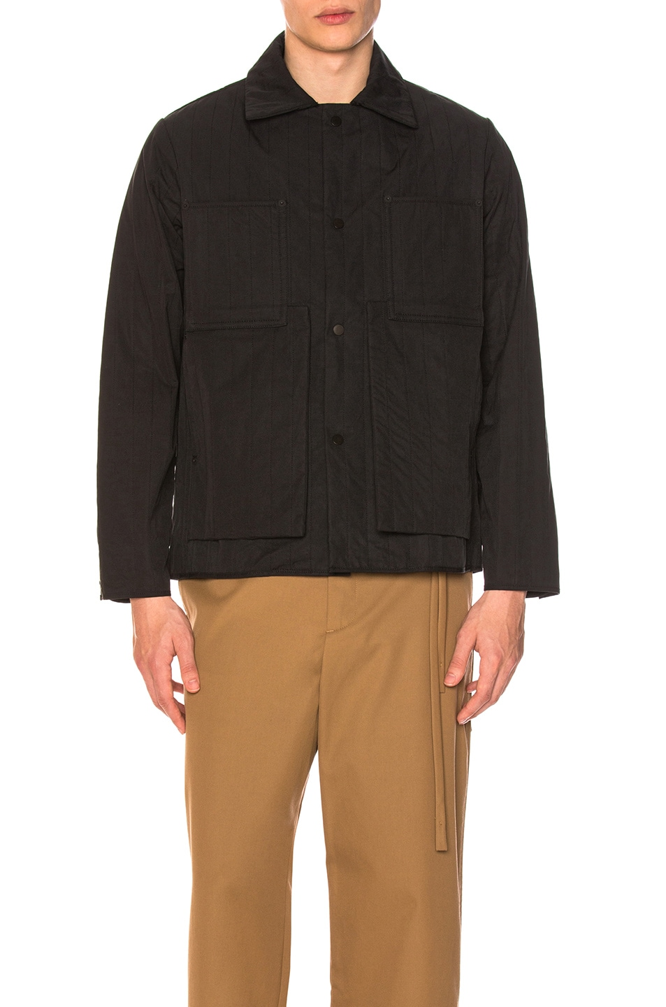Image 2 of Craig Green Quilted Workwear Jacket in Black