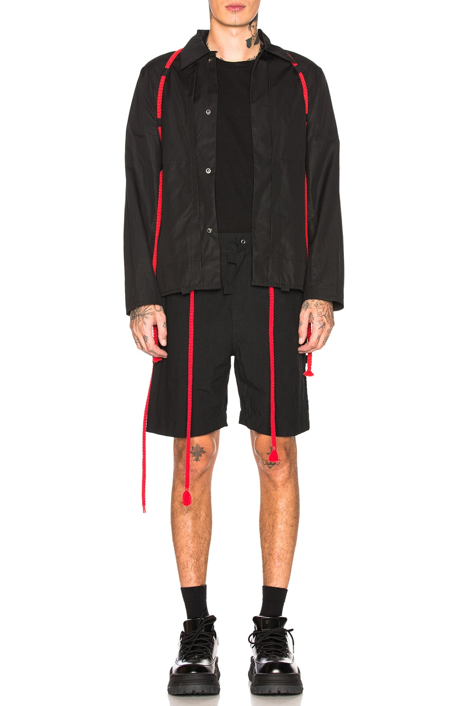 Image 1 of Craig Green Rope Worker Jacket in Black