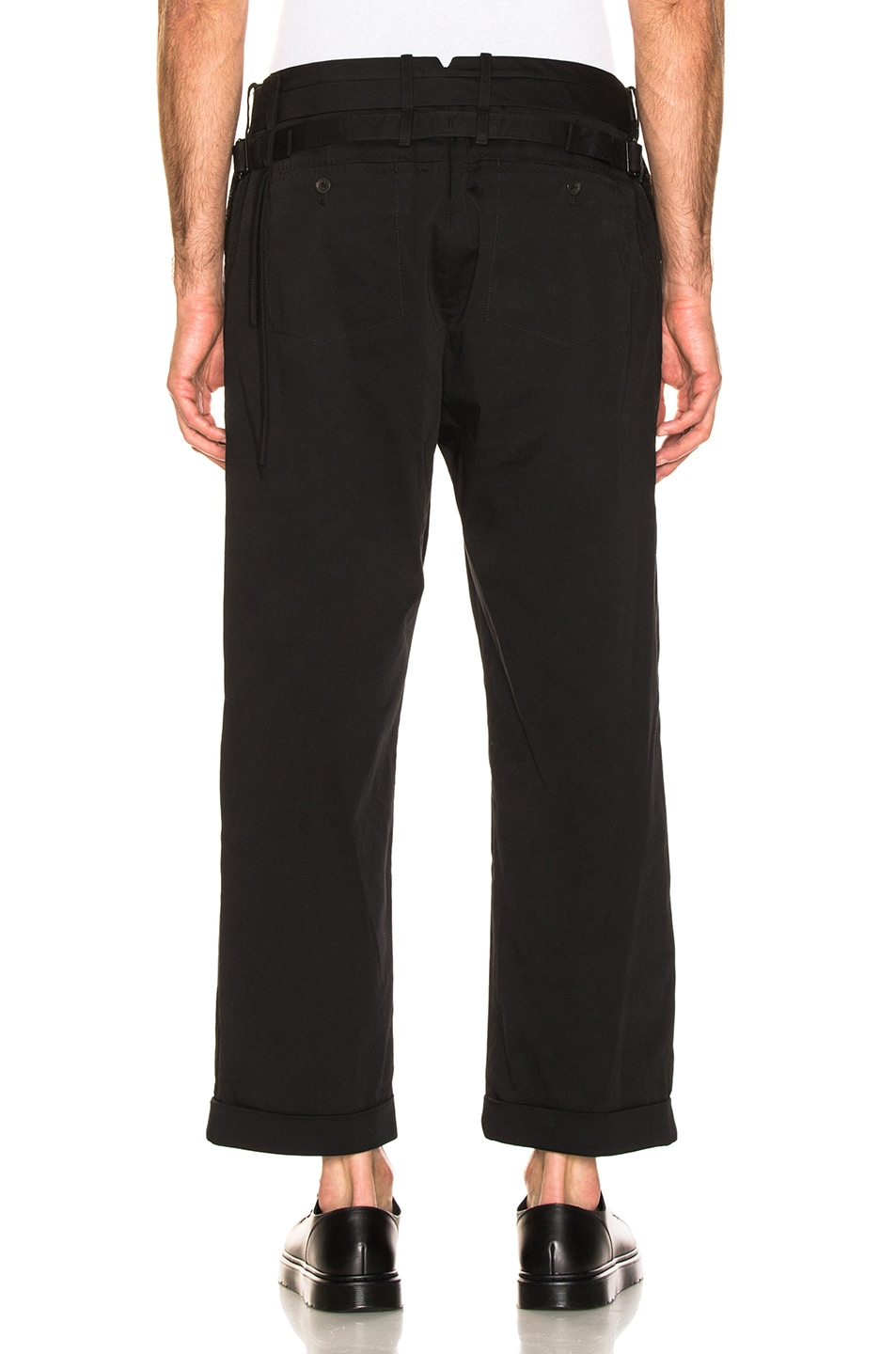 Image 3 of Craig Green Uniform Trouser in Black