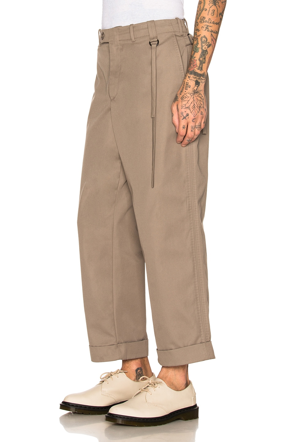Image 3 of Craig Green Uniform Trouser in Grey