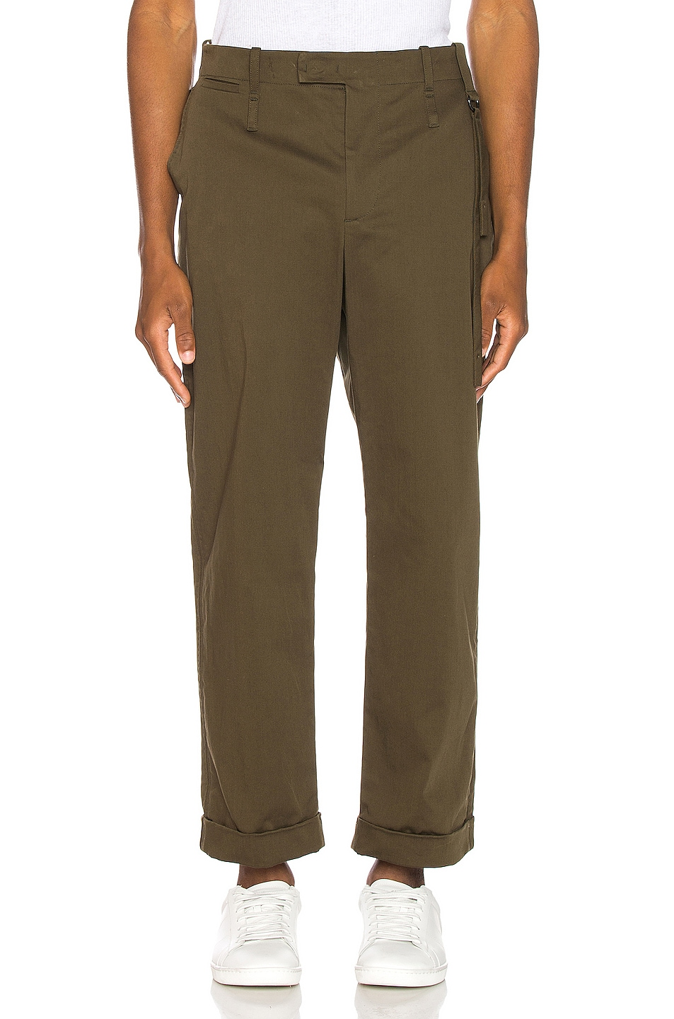 Image 1 of Craig Green Relaxed Tailored Trousers in Khaki