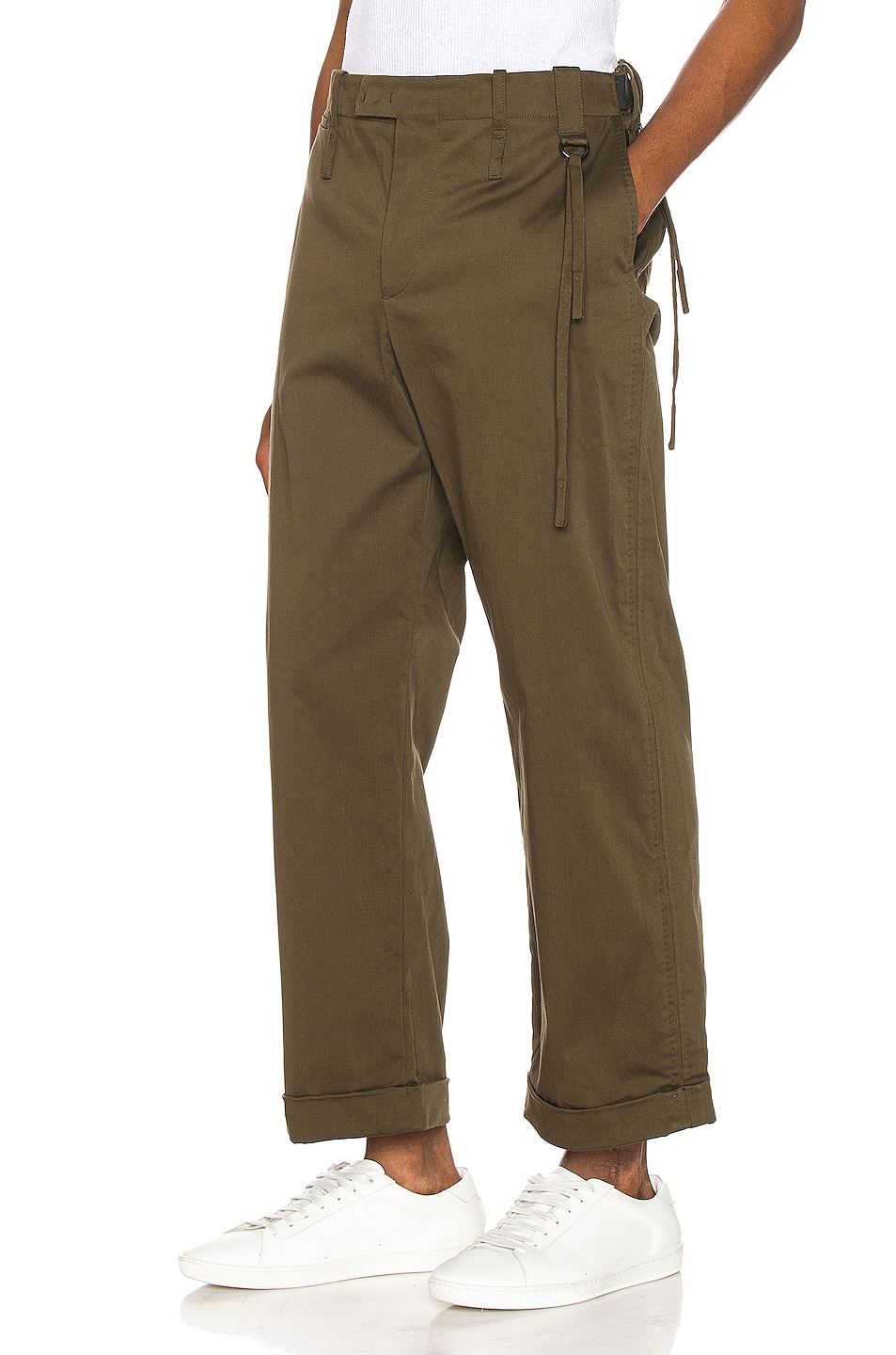 Image 3 of Craig Green Relaxed Tailored Trousers in Khaki