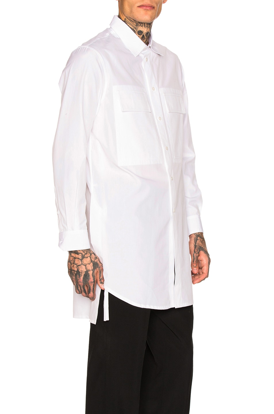 Image 2 of Craig Green Long Shirt in White