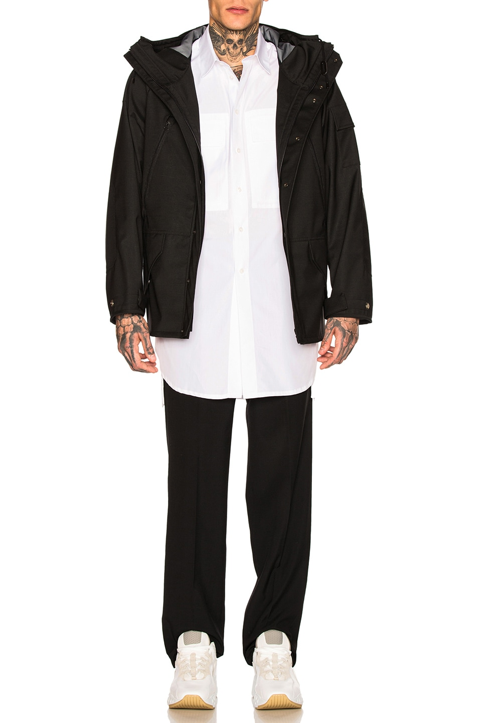 Image 4 of Craig Green Long Shirt in White